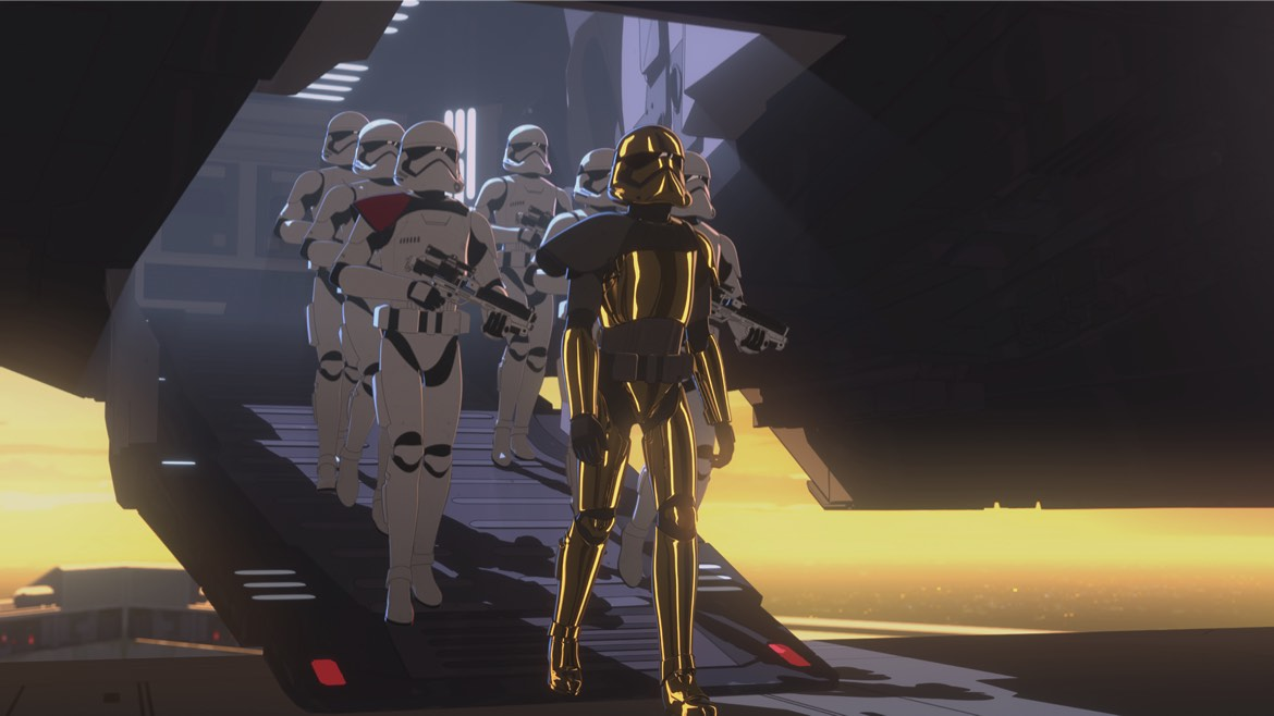 "Star Wars Resistance Season 1, Episode 16 Recap And Review – ""The New Trooper"""