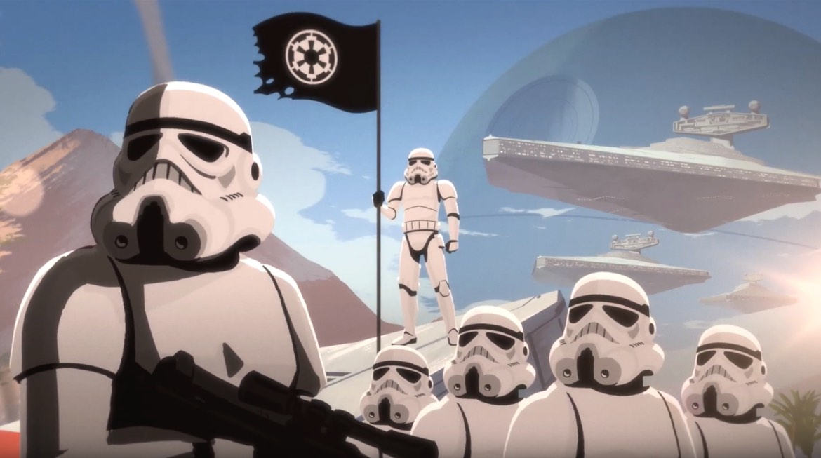 Stormtroopers Actually Look Like Badasses In New Galaxy of Adventures Short
