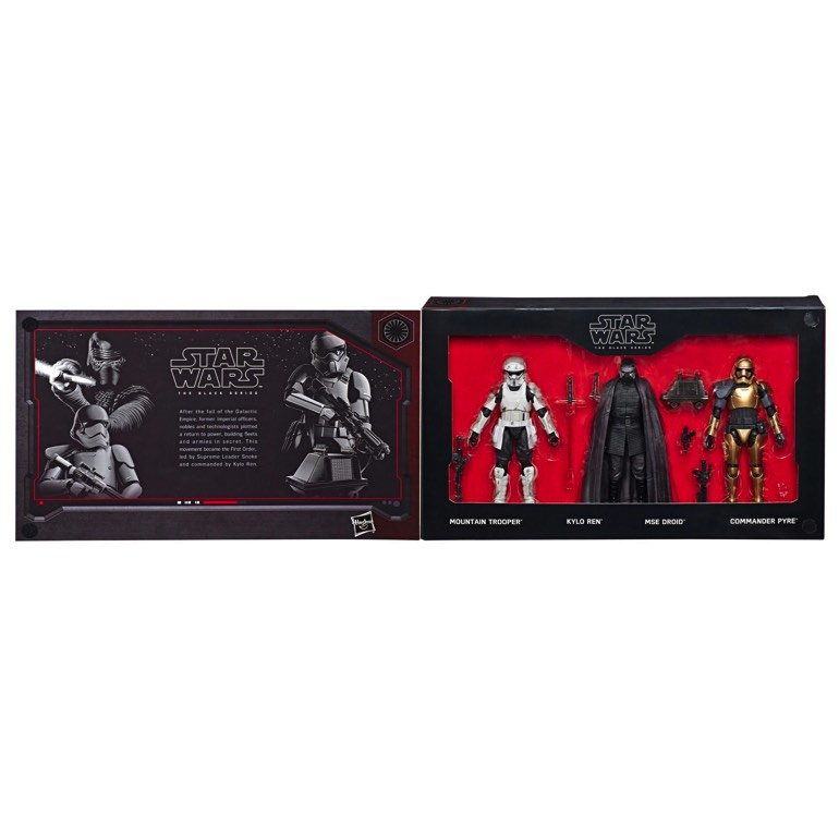 Commander Pyre Black Series Figure Included in Disney Parks