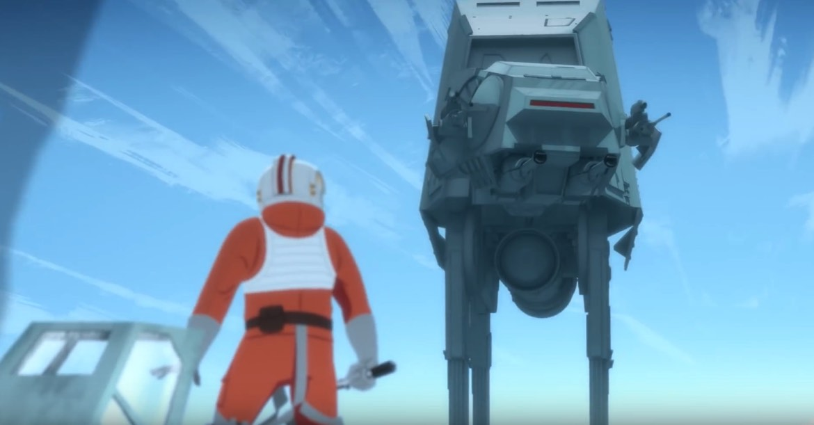 The Battle of Hoth Has Never Looked More Radical Thanks to Galaxy of Adventures
