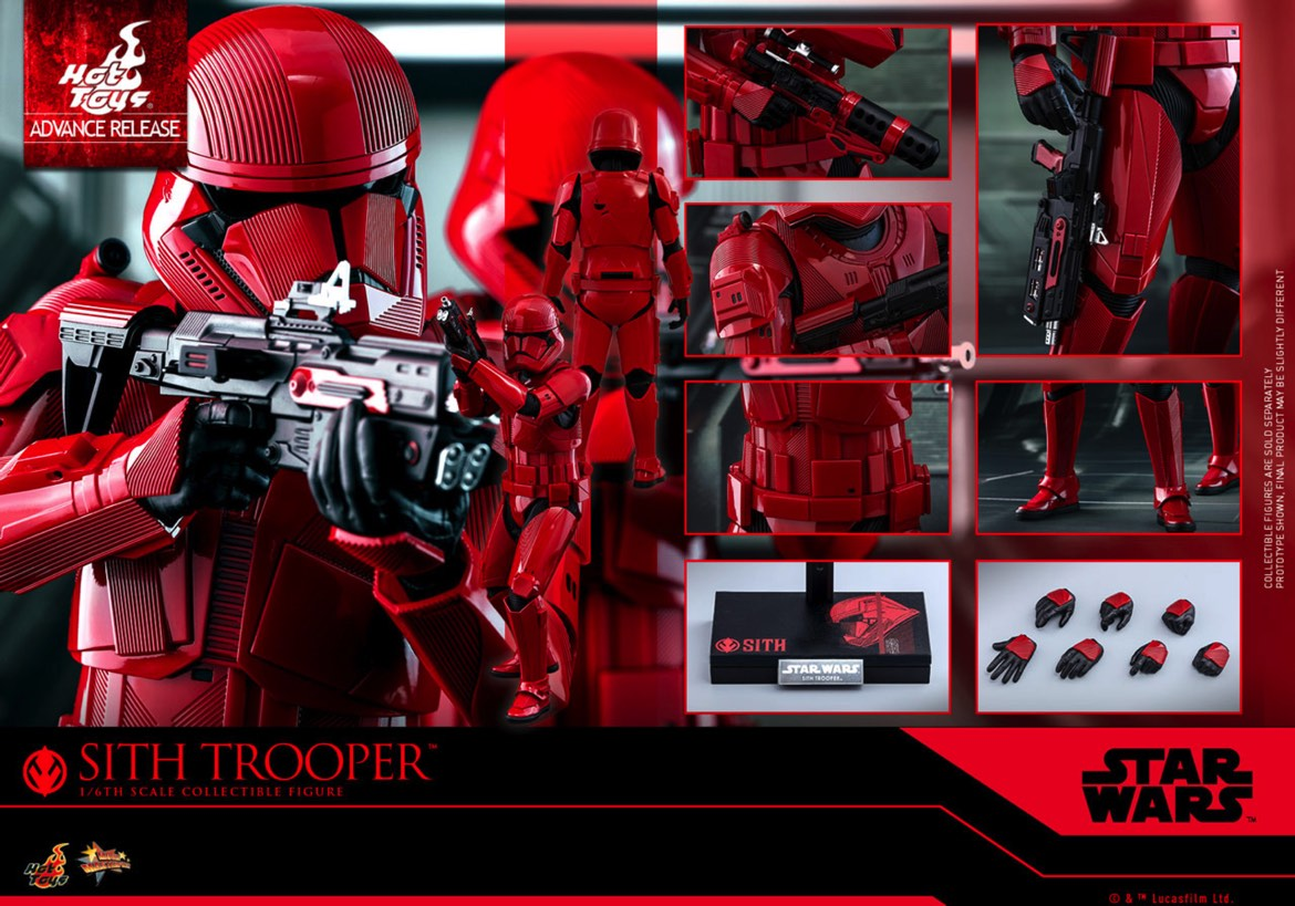 Sdcc Toy Reveal Confirms Red Sith Troopers In The Rise Of Skywalker Star Wars Time