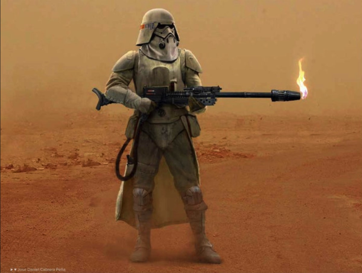 Imperial Flametrooper Concept Art Teased In The Art Of Star