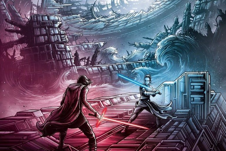 Dan Mumford Shares First Of Four Exclusive Amc Imax Posters For Rise Of Skywalker Star Wars Time