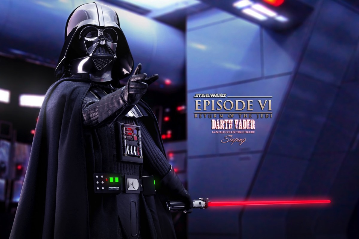 Hot Toys Unveils Killer Looking Final Product Shots for the 1/4 Scale ROTJ Darth Vader Figure