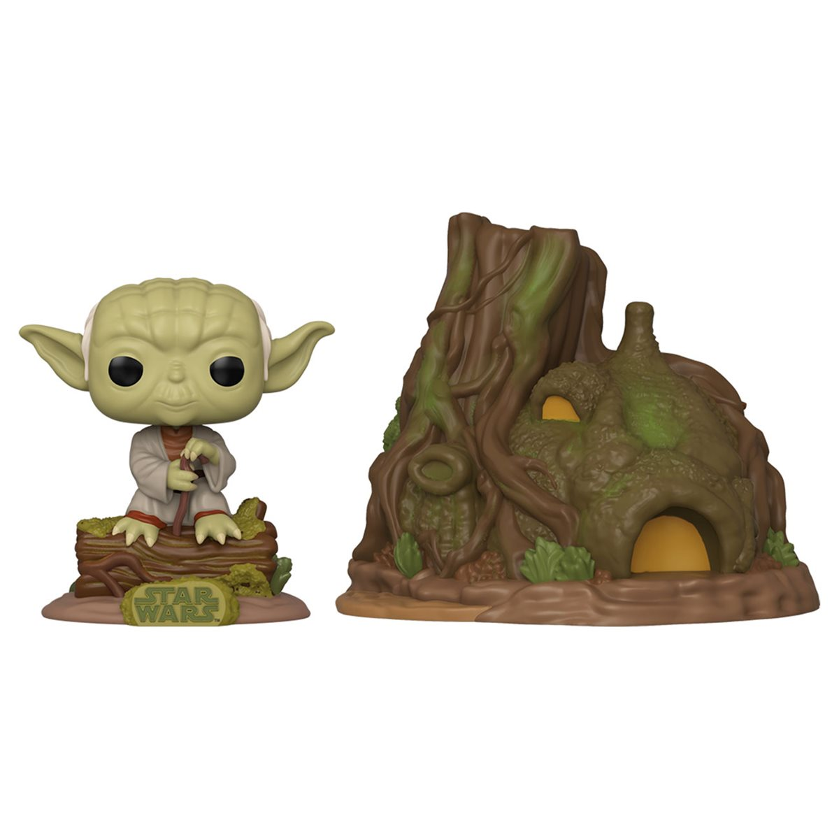 Yoda With Dagobah Hut Funko Pop Set Up for Pre-Order
