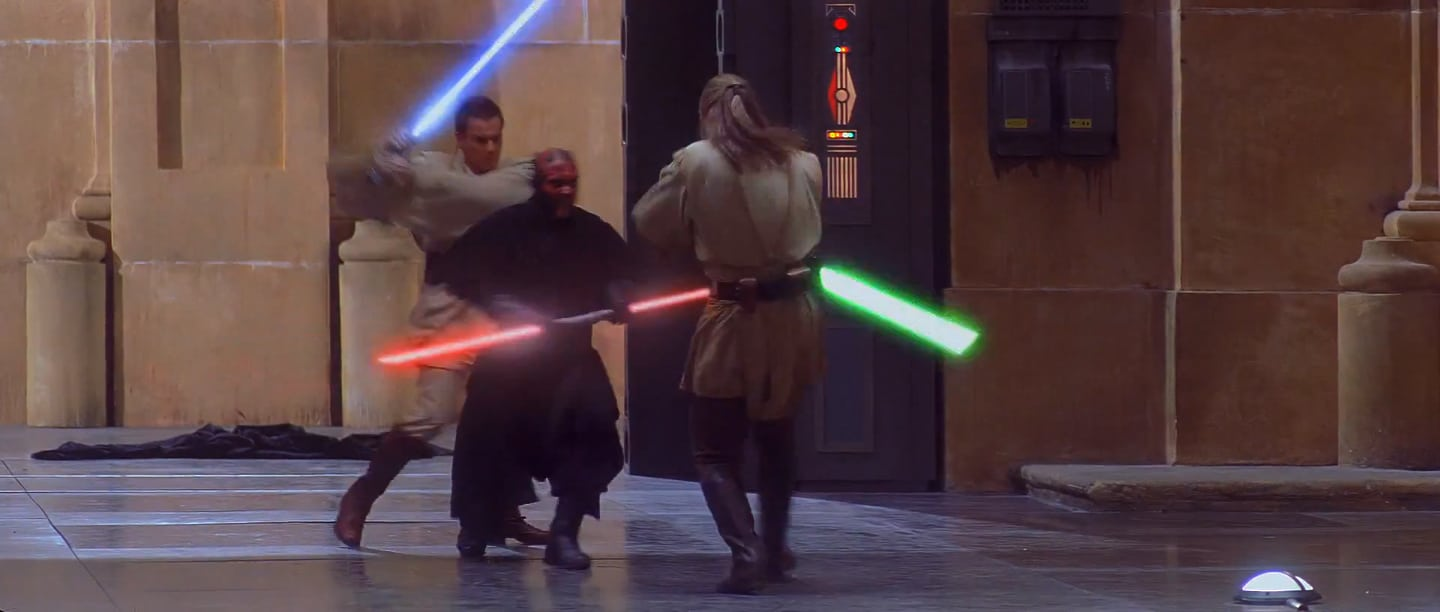 Prequel Stunt Coordinator Explains The Lightsaber Fighting Style of the Prequels
