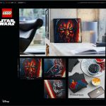 LEGO Unveils Awesome Looking Sith Lords Mosaic Wall Art