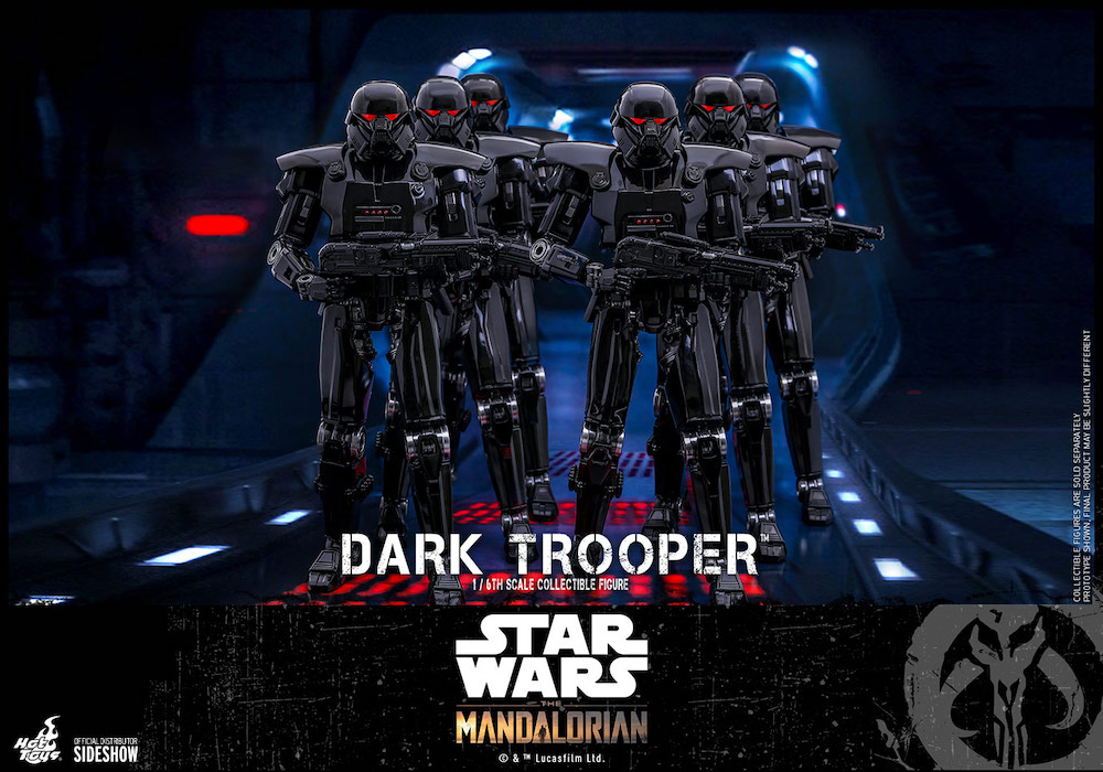 The Mandalorian's Dark Trooper Joins Hot Toys' 1/6th Figure Collection