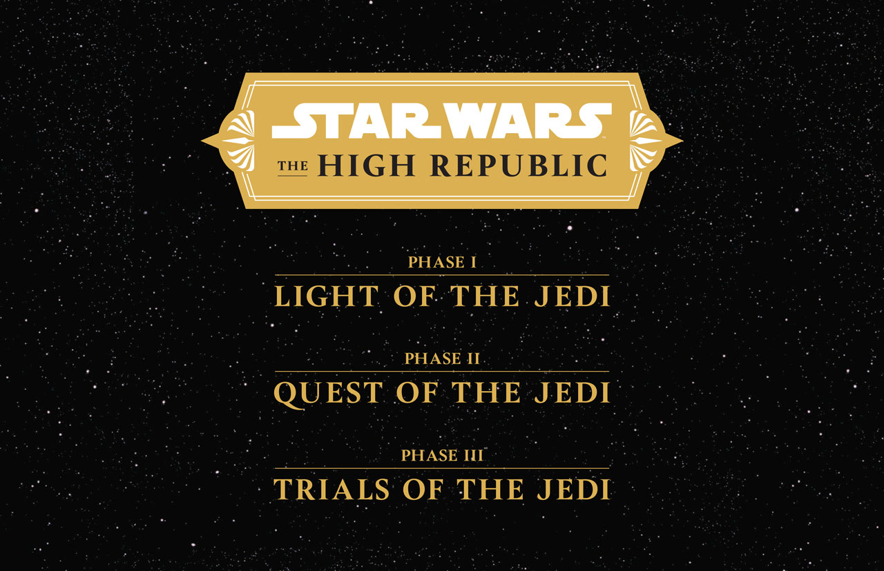 New High Republic Content Wave Outlined