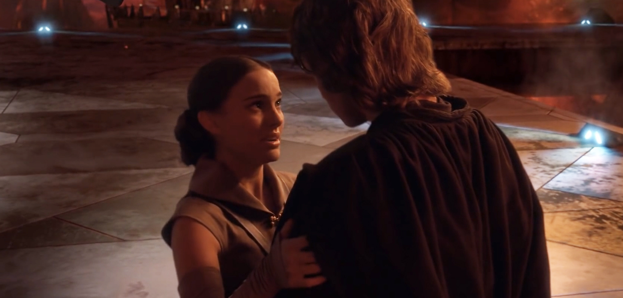 Padme Was Almost Slammed Against A Ship In ROTS